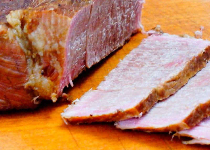 Домашняя солонина из говядины фото
