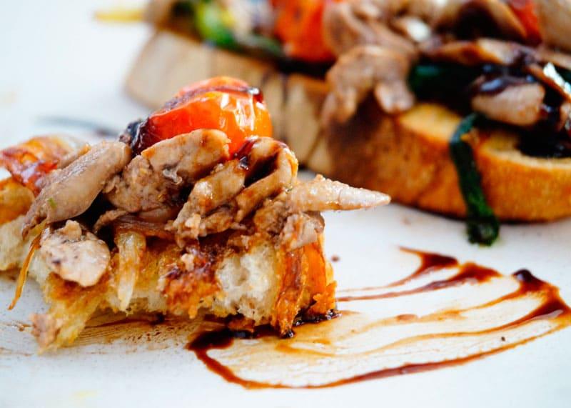 Рецепт гренки с рыбной печенью фото