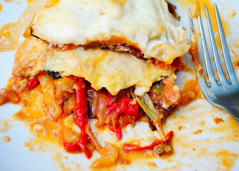 Рецепт лазанья с жаренными овощами фото