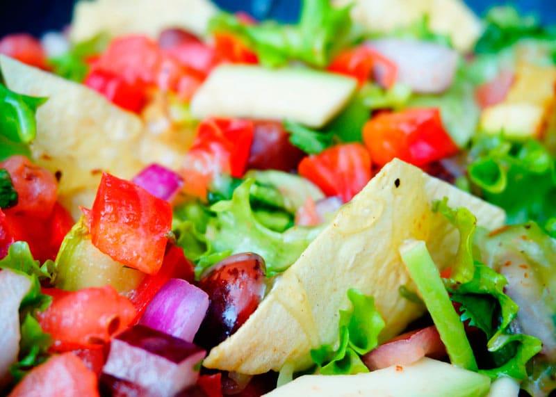 Мексиканский салат фото