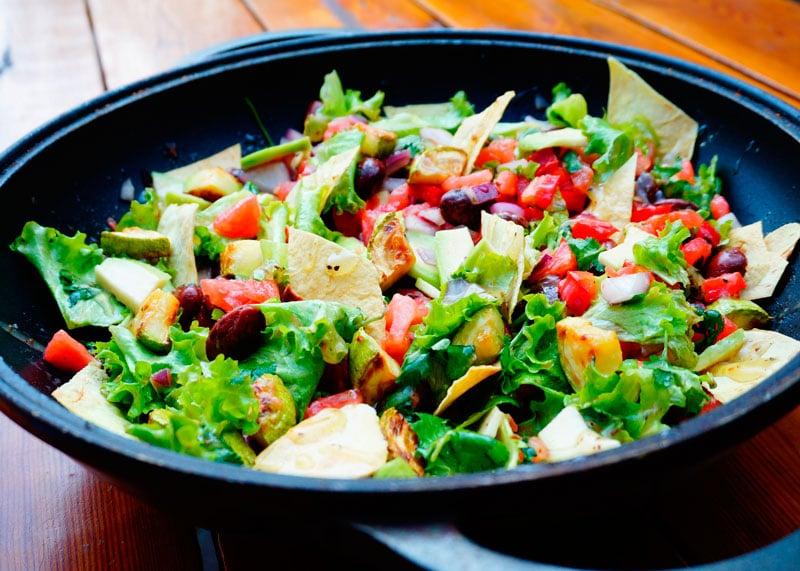 Мексиканский салат рецепт фото