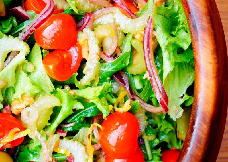 Рецепт овощной салат фото