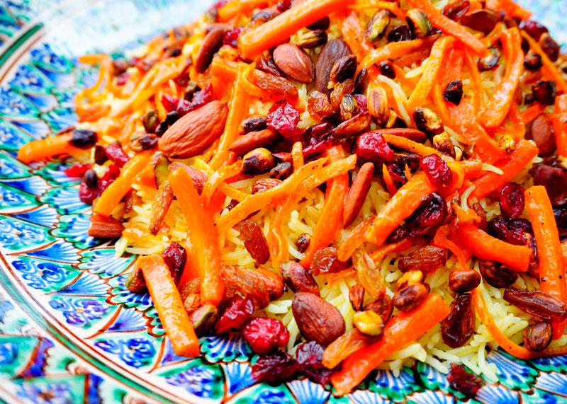 Персидский драгоценный рис фото