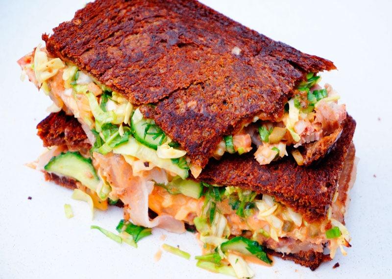 Сэндвич рубен фото