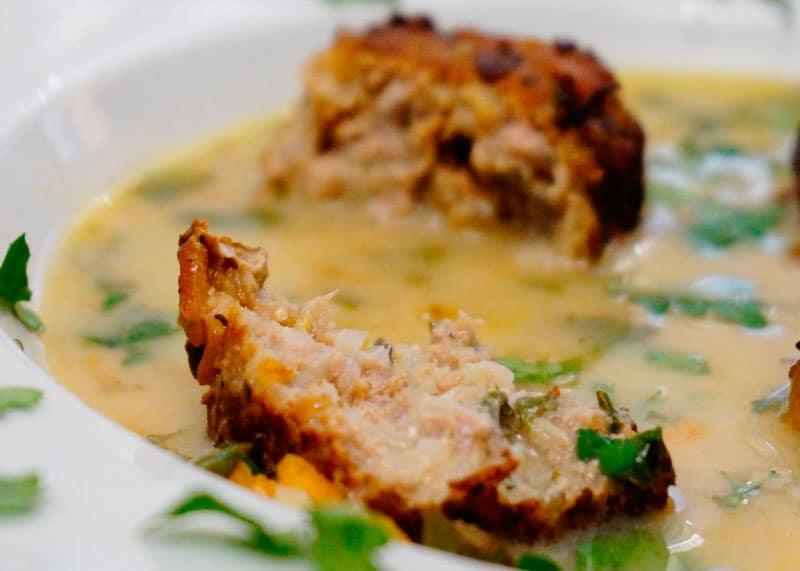 Рецепт суп юварлакья авголемоно фото
