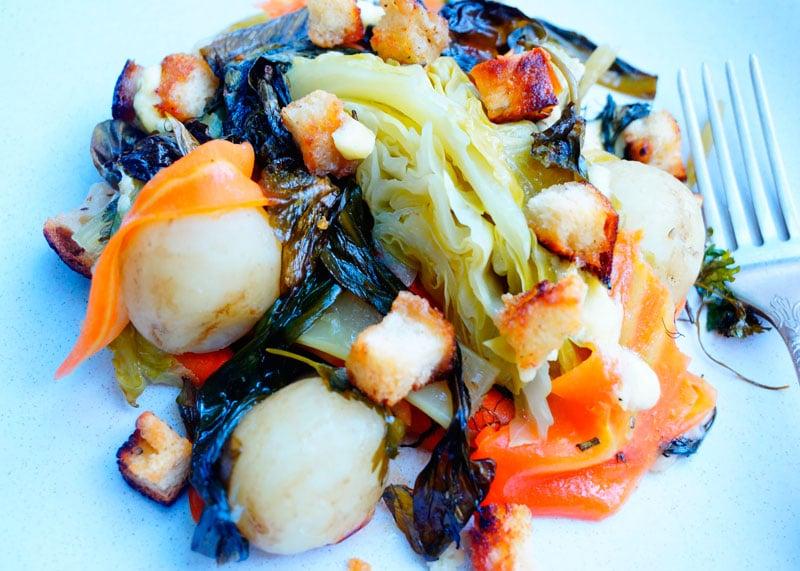 Рецепт весенние овощи запеченные с розмарином фото