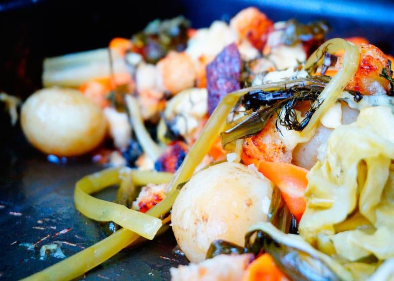 Весенние овощи запеченные с розмарином рецепт фото