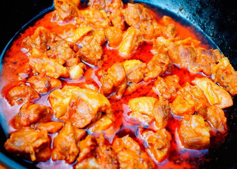 Кусочки жаренного цыпленка по-керальски фото
