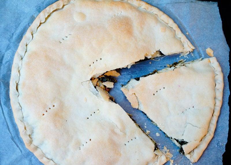 Пирог эрбацоне фото