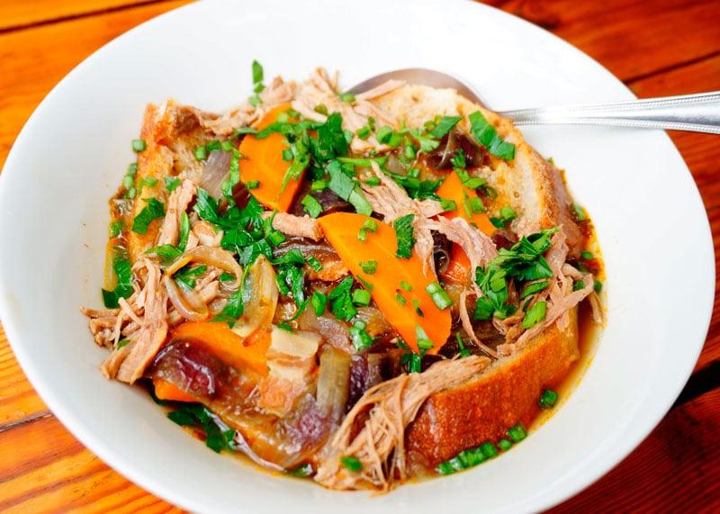 Рецепт хлебный суп из Франконии фото