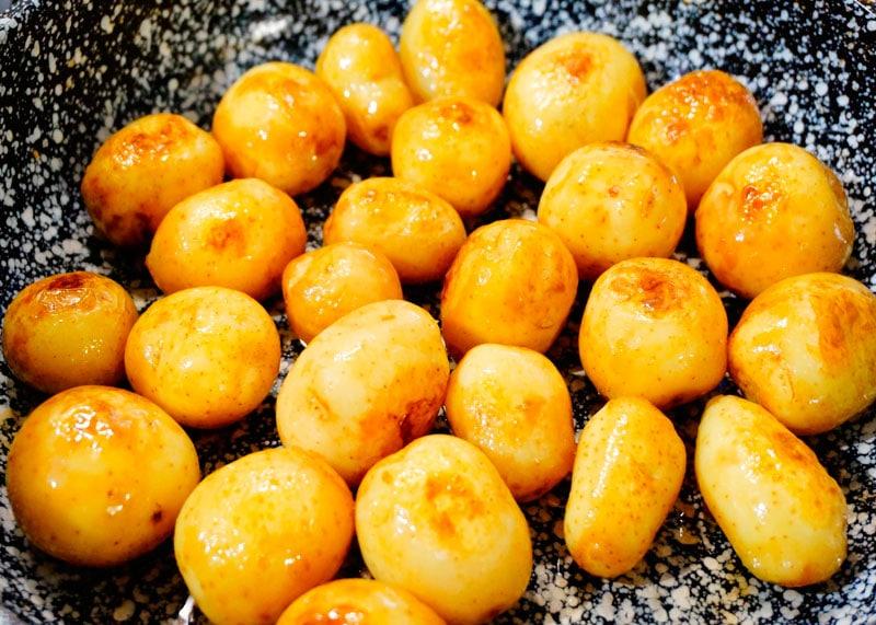 Картофельное пюре колканнон фото
