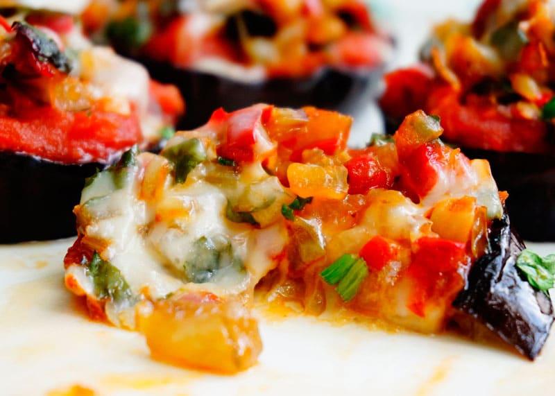 Рецепт пиццы из баклажанов фото