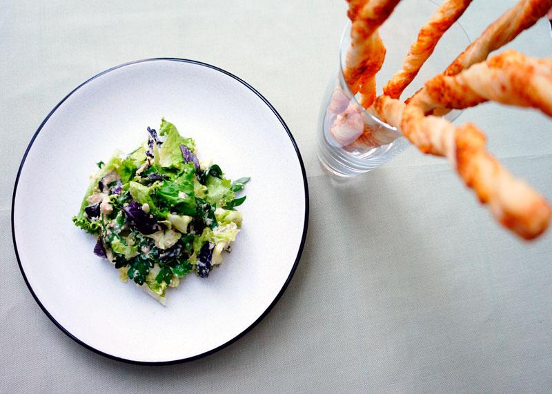 Рецепт салат с соусом сальса ди ночи фото