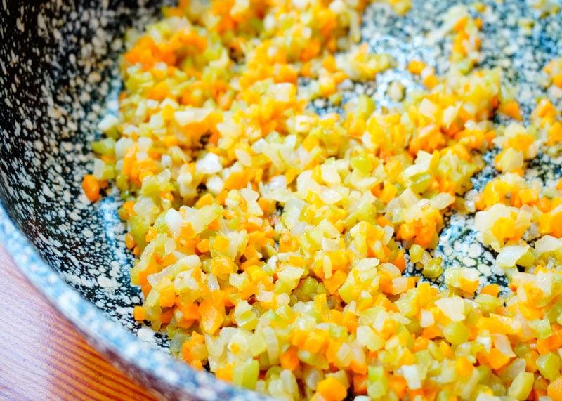 Овощи брюнуаз фото