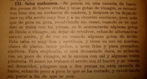 Старинный рецепт майонеза фото