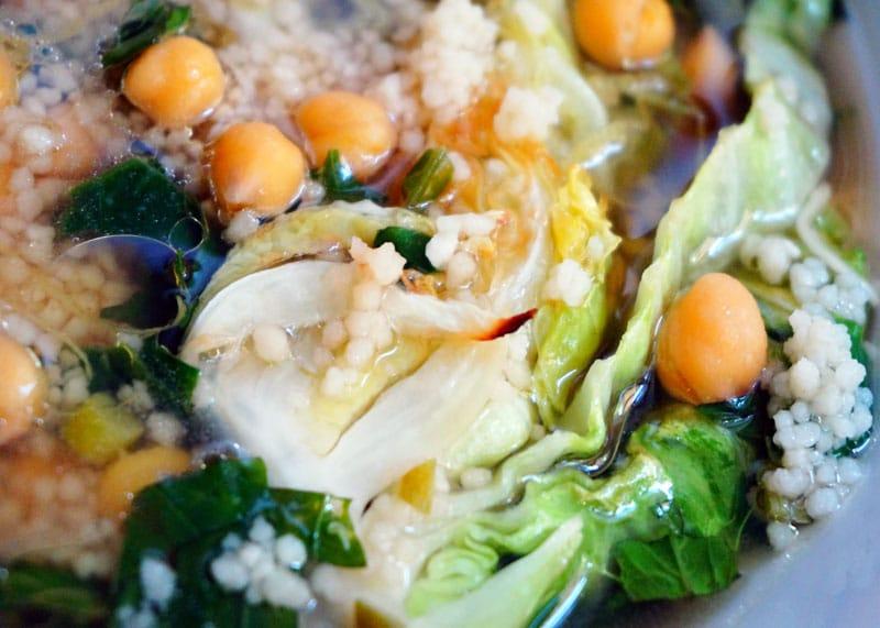 Рецепт суп с нутом и зеленью фото