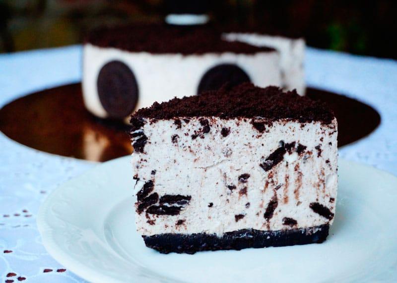Муссовый торт Орео фото