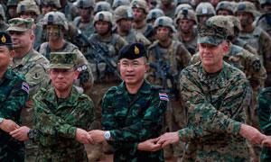 Армия Таиланд-США фото
