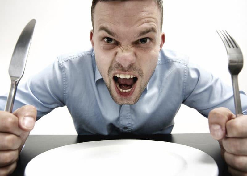 Глость - злость из-за голода фото