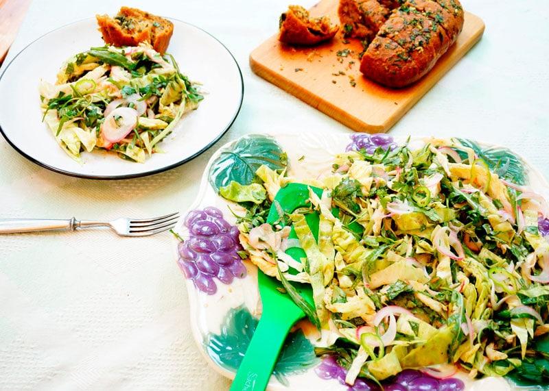 Рецепт итальянский салат фото
