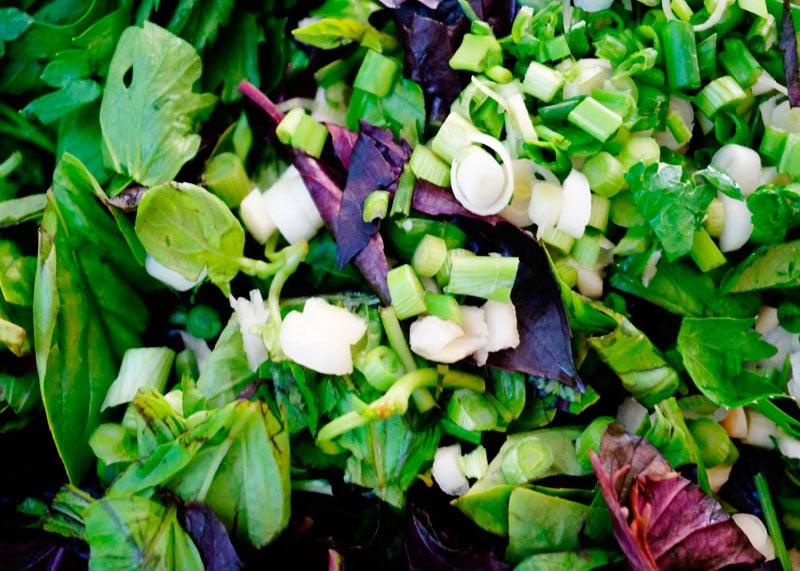 Перцы, фаршированные зеленью фото
