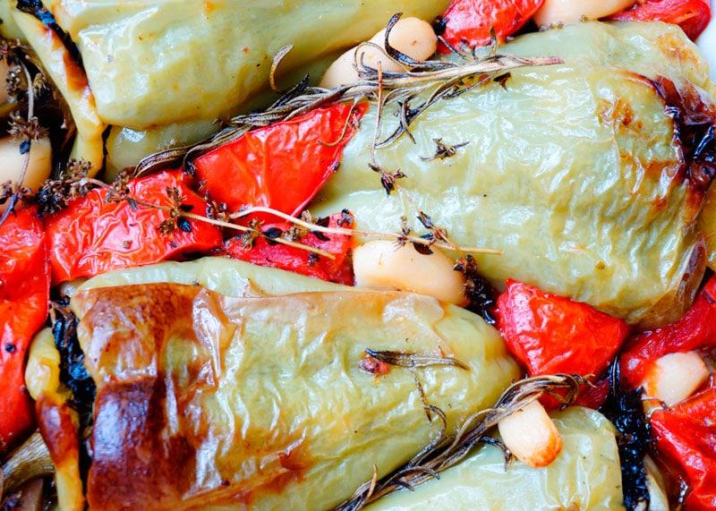 Рецепт перцы, фаршированные зеленью фото