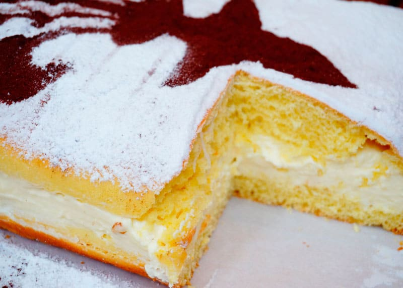 Пирог скьяччата фото