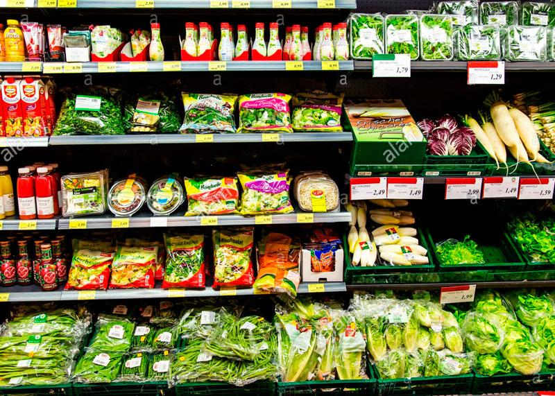 Продукты супермаркет фото