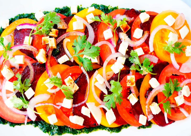 Рецепт Салат из печеной свеклы фото