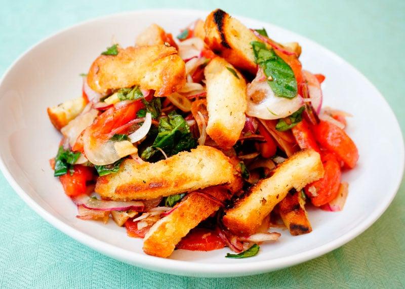 Рецепт салат из розовых помидоров по-сицилийски фото