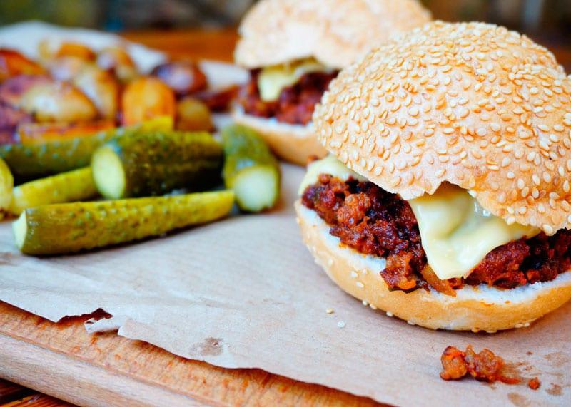 Сэндвич неряшливый джо приготовление фото
