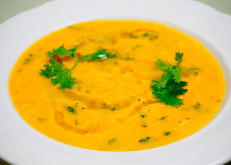 Суп из цветной капусты и моркови фото