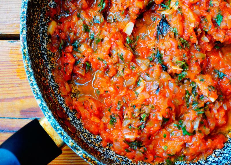 Рецепт томатный соус по-сицилийски фото