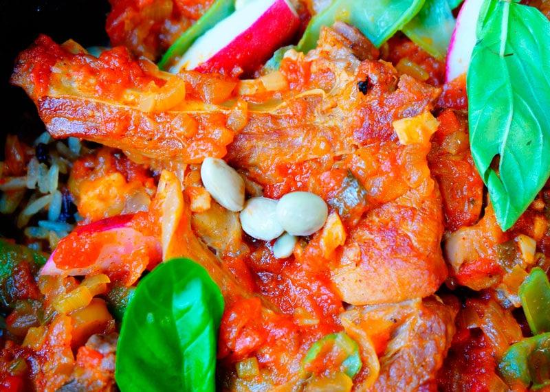 Телячьи ребрышки по-индонезийски рецепт фото
