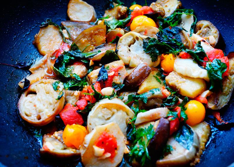 Рецепт баклажаны по-грибному фото