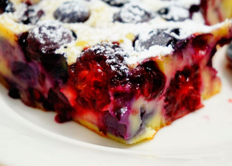 Клафути из ягод рецепт фото