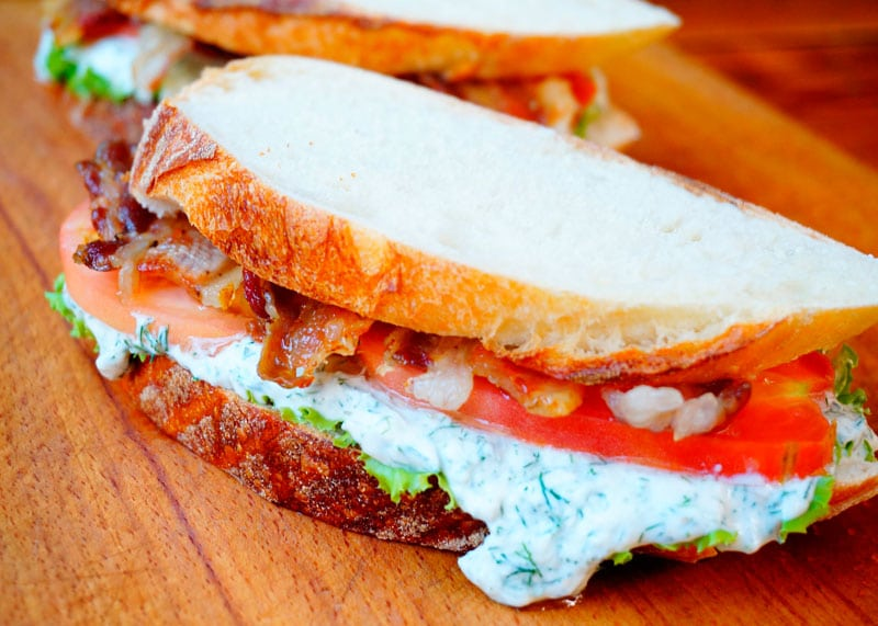 Рецепт сэндвичи БЛП фото