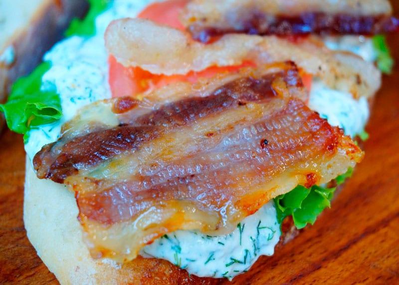 Сэндвичи БЛП фото