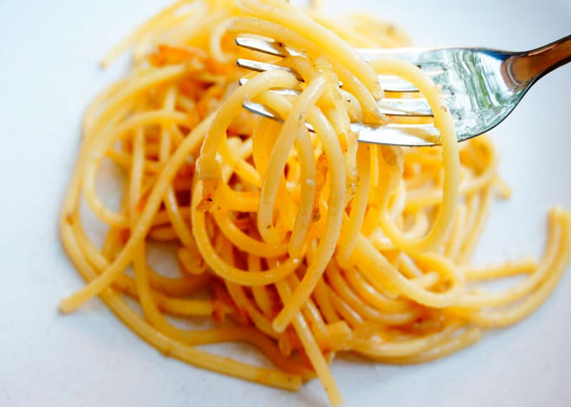Спагетти биголи ин сальса рецепт фото