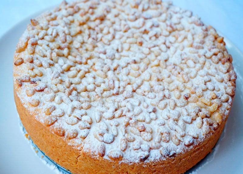 Пирог торта делла нонна фото