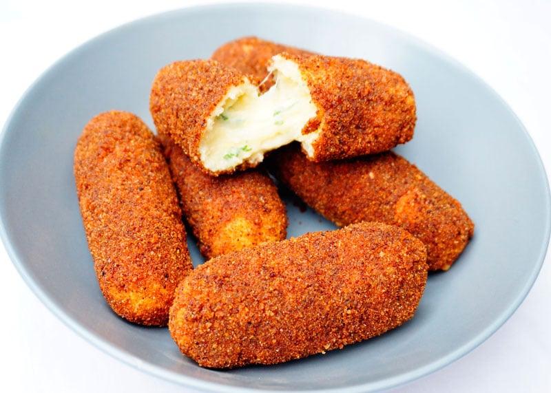 Картофельные крокеты рецепт фото