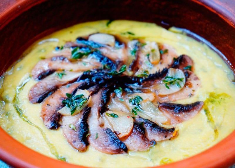 Кукурузный суп с маринованными грибами рецепт фото