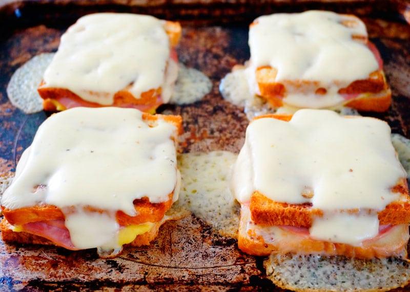 Сэндвич крок месье рецепт фото