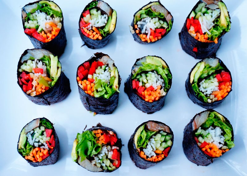 Футомаки суши фото