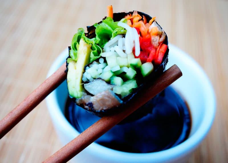 Футомаки суши приготовление фото