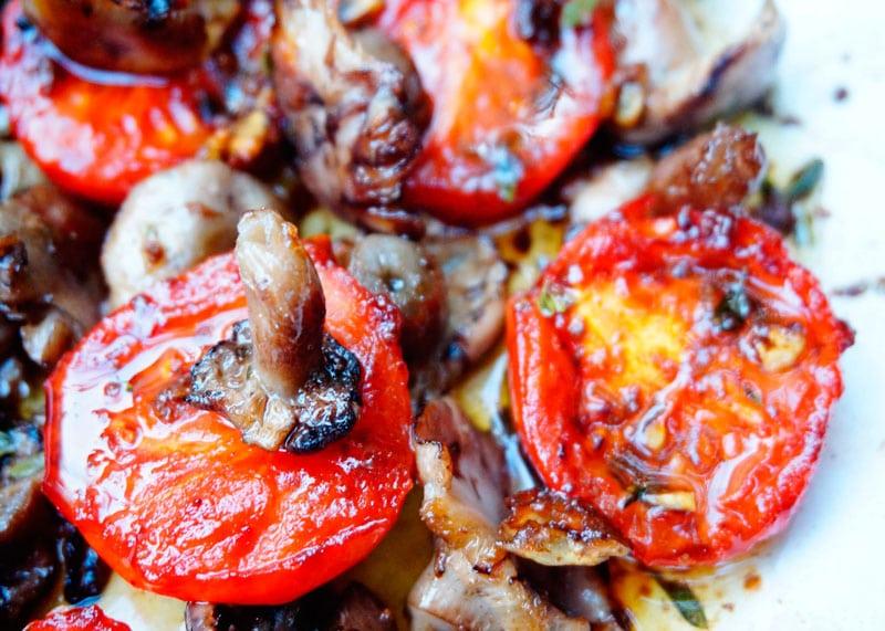Помидоры черри и грибы рецепт фото