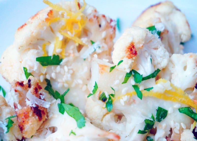 Цветная капуста с соусом из сливочного масла рецепт фото