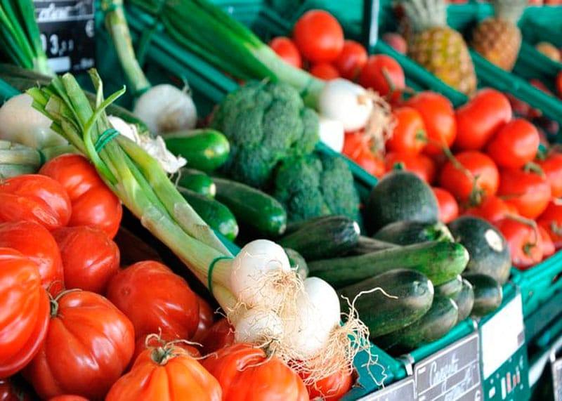 Полезные органические овощи фото