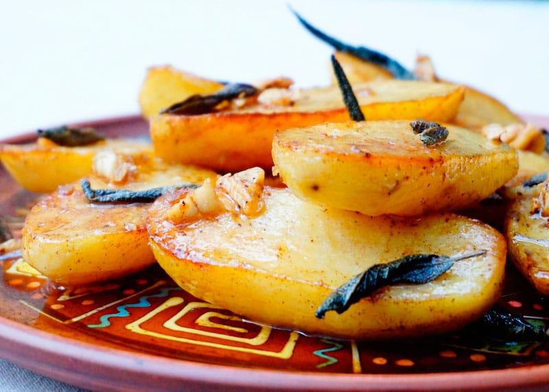Картофель, жаренный с шалфеем рецепт фото