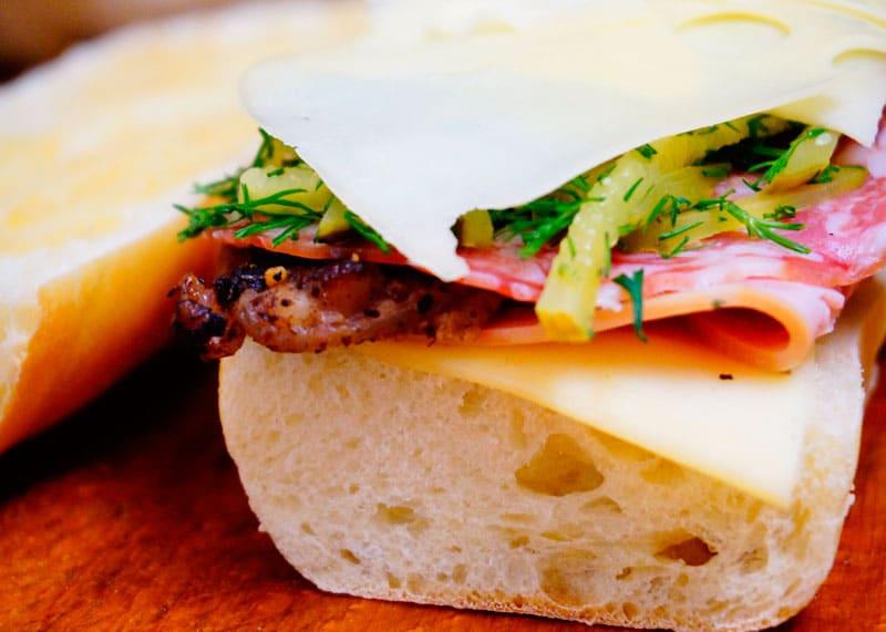Кубинский сэндвич фото